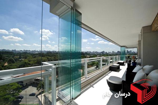 بالکن شیشه ای | شیشه بالکن