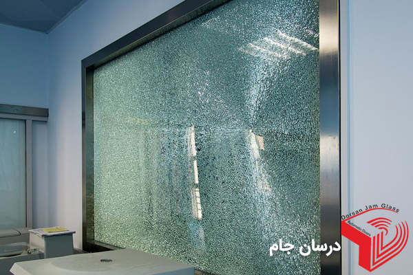 تعویض شیشه شکسته